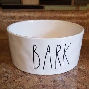 Rae Dunn Magenta Ceramic Dog Bark Bowl 6 inches